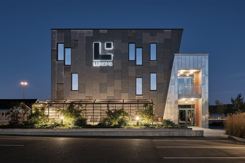 Lundhs Bygg Fasade